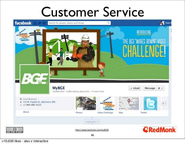 Customer Service                                     https://www.facebook.com/myBGE                                       ...