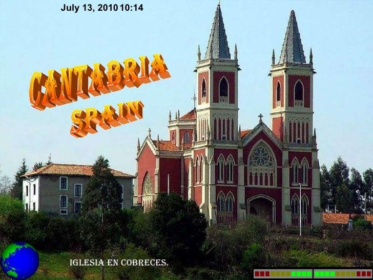 Iglesia en cobreces. cantabria spain July 13, 2010 10:13