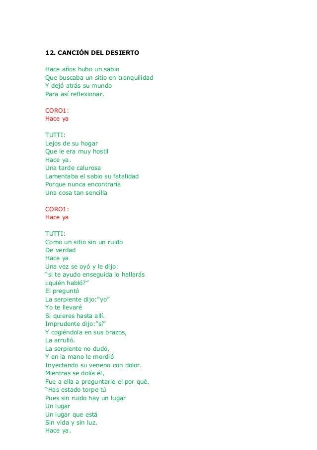 Cantania 2013 Letra Ha Pasado Un Angel