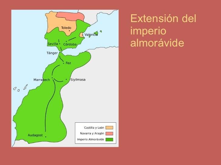 Extensión del imperio almorávide