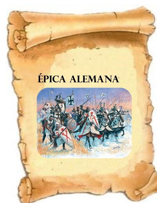 ÉPICA ALEMANA