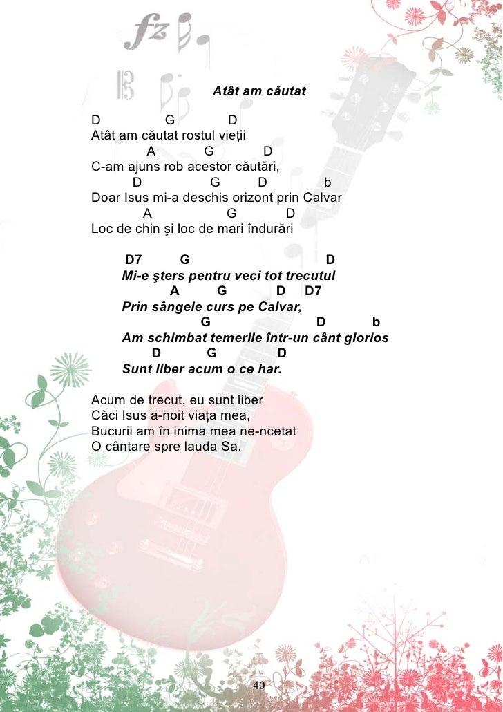 cantati toti de bucurie acorduri
