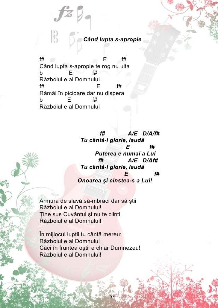 cantari crestine acorduri chitara pdf
