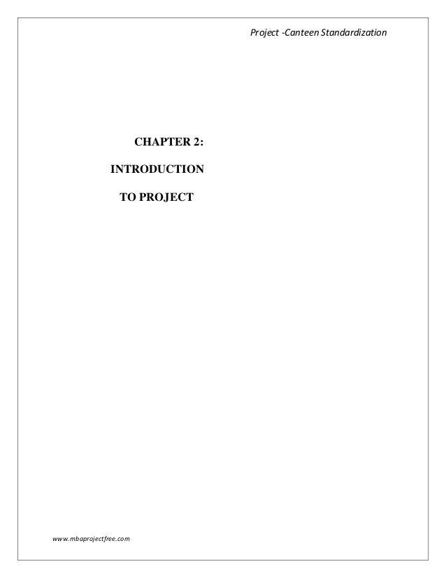 Internship Report – Internship Report Sample, Format, Example