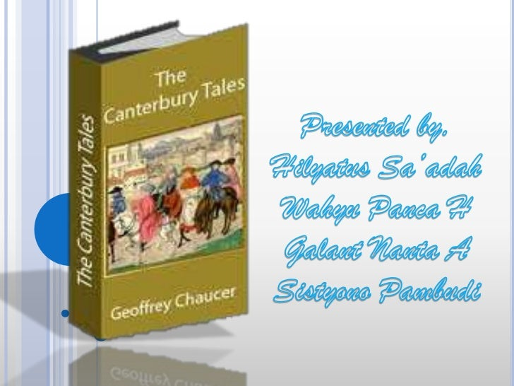 Geoffrey Chaucer Chaucer was born in the early 1340s to a fairly rich, well-to-do, though not aristocratic  family. His ...
