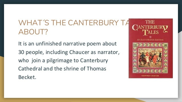 canterbury tales unfinished