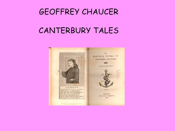 an analysis of the topic of chaucers canterbury tales Geoffrey chaucer's canterbury tales: the pardoner's tale and the wife of bath's tale study play the pardoner's tale what is the topic.