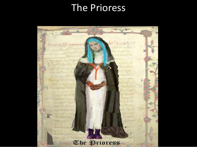 an analysis of the wife of bath and the prioress Reading the visual images of the wife of bath's prologue and tale  the wife of bath's tale as fundamentally concerned with issues of interpretation  the man of law's tale is tightly curled, while for the prioress it is quite spare and simple.
