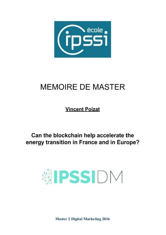 Master 2 Digital Marketing 2016