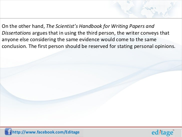 Scientist's handbook for writing papers and dissertations