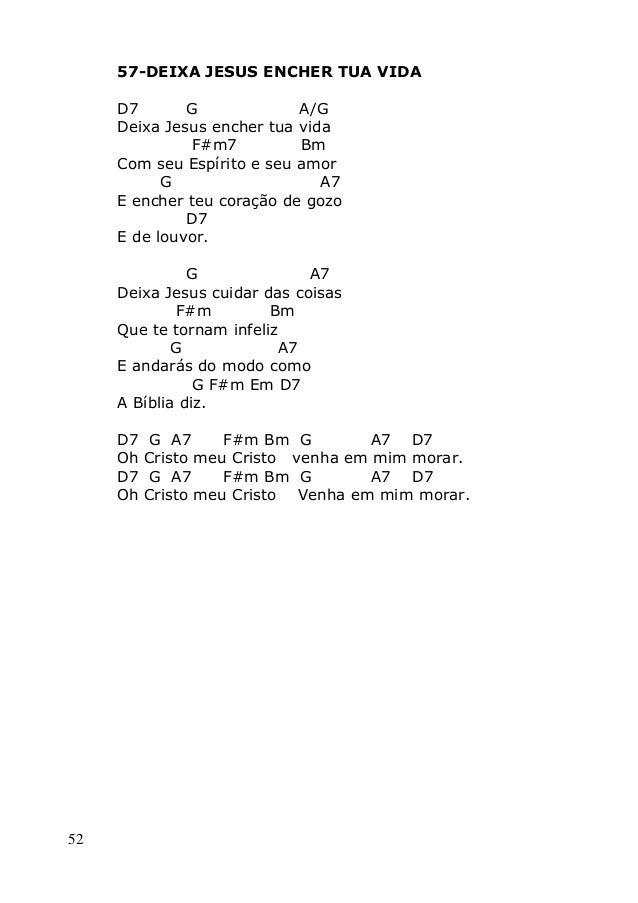 Canticos com cifras