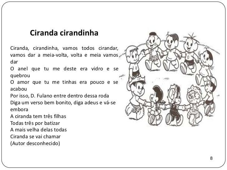 Amado Projeto: Cantigas de roda CI71