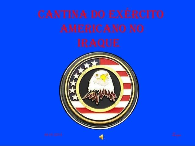 Cantina do ExérCitoamEriCano noiraquELuzia24-01-2012