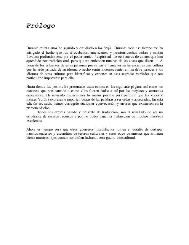 Canto a los orishas con sus traducciones en pdf Slide 3