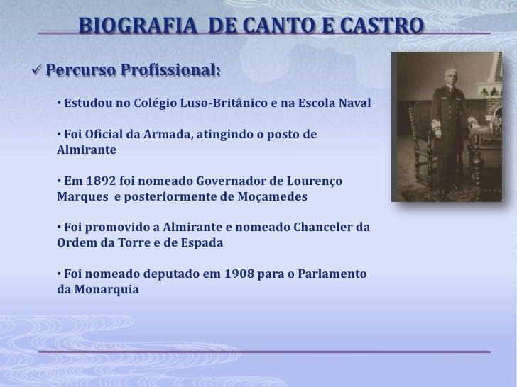 Canto E Castro Slide 3
