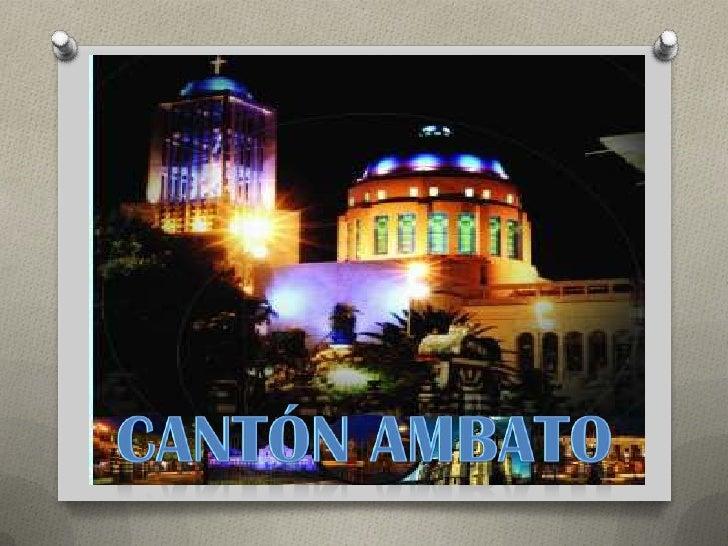 Cantones