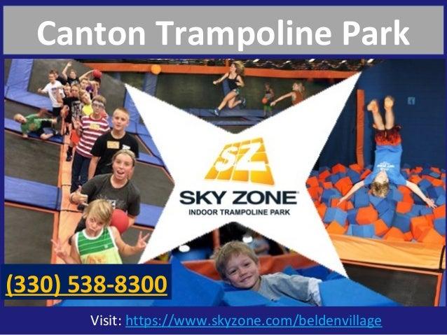 Visit: https://www.skyzone.com/beldenvillage Canton Trampoline Park (330) 538-8300