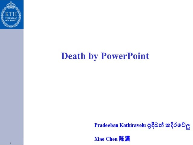 1 Death by PowerPoint