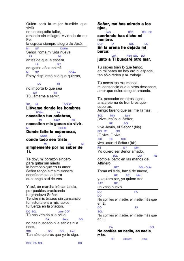 Cantoral con acordes for El jardin acordes