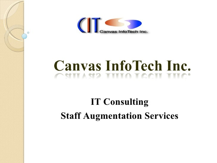 IT Consulting Staff Augmentation Services