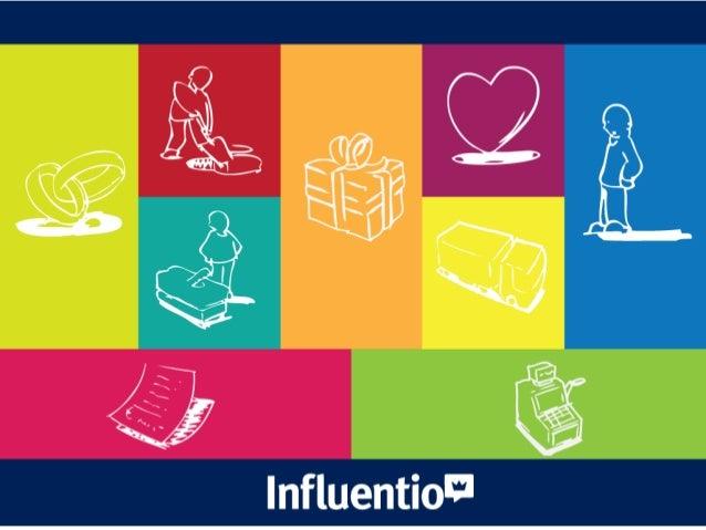 Influentio - Pitch & Modelo de Negócio Slide 2