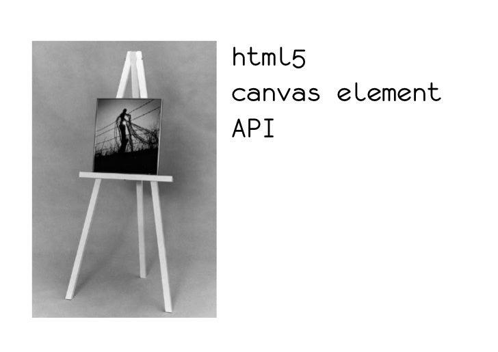 html5canvas elementAPI