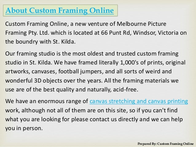 custom framing online 2