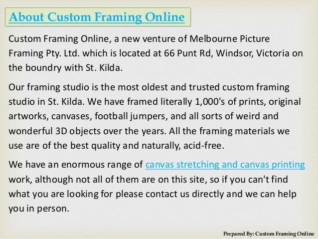 framing online 2