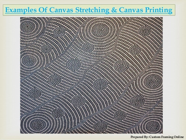 Canvas Stretching, Canvas Printing Services at Melbourne by Custom Framing Online Slide 3