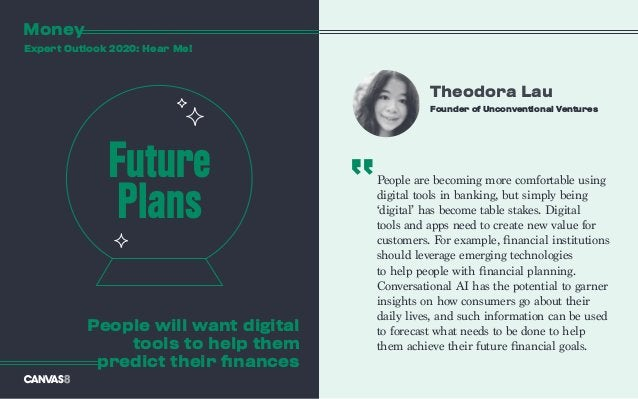 People are becoming more comfortable using digital tools in banking, but simply being 'digital' has become table stakes. D...