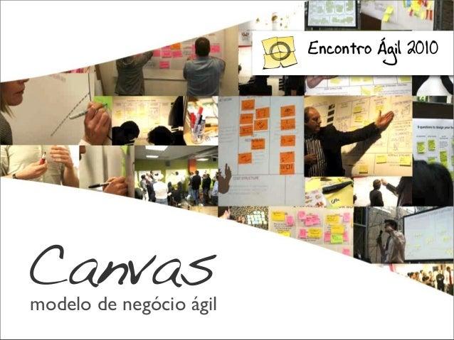 modelo de negócio ágil Canvas
