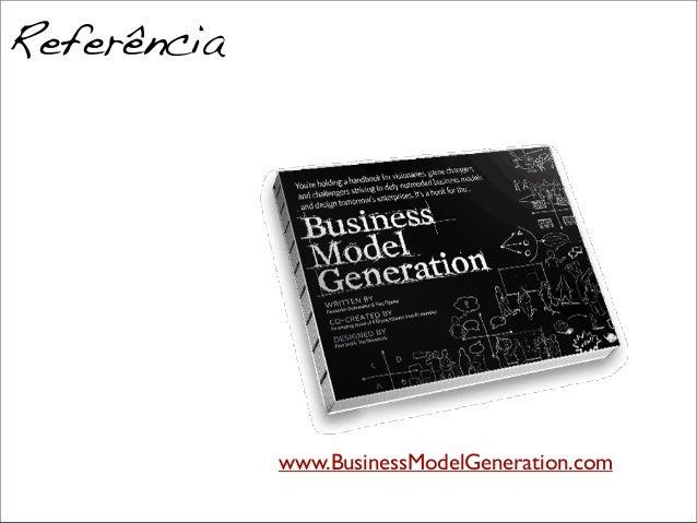 www.BusinessModelGeneration.com Referência