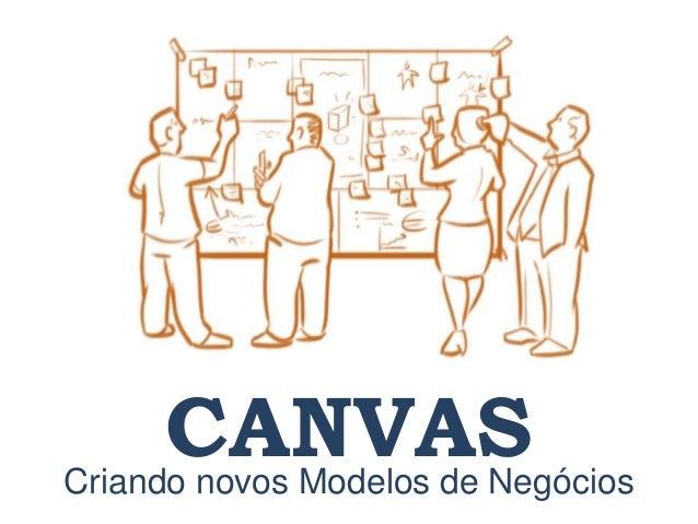 Criando novos Modelos de Negócios CANVAS