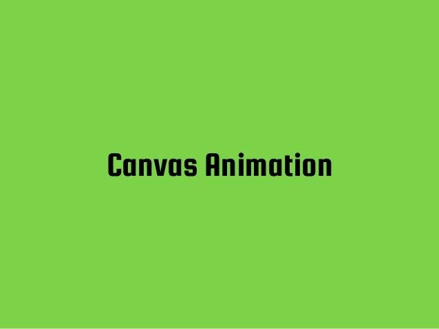 Canvas Animation