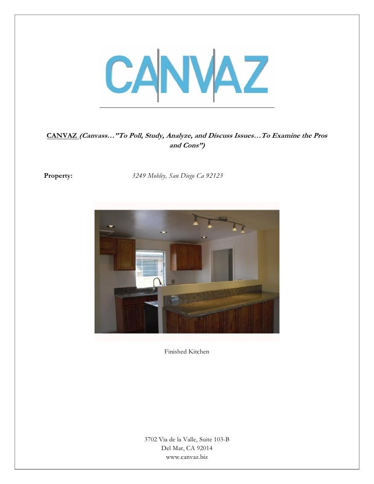 "CANVAZ (Canvass…""To Poll, Study, Analyze, and Discuss Issues…To Examine the Pros                                      and ..."