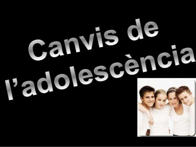 Durant l'adolescència es produeixen molts canvis en molt poc temps, és un procés psicològic unit al creixement social i em...