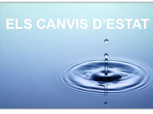 ELS CANVIS D'ESTAT
