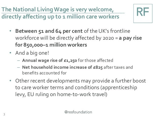 • Between 51 and 64 per cent of the UK's frontline workforce will be directly affected by 2020 = a pay rise for 850,000–1 ...