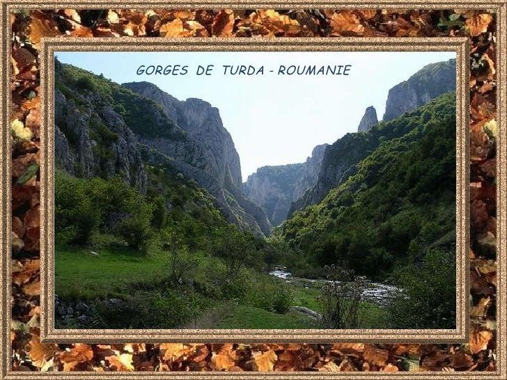 GORGES  DE  TURDA - ROUMANIE