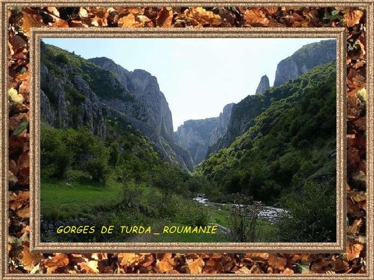 GORGES  DE  TURDA _ ROUMANIE