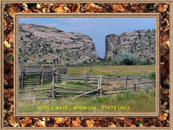 DEVILS  GATE _ WYOMING _ ETATS UNIS