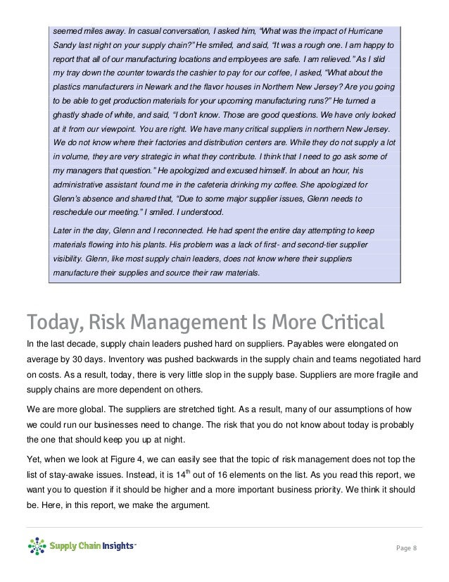 Can You Afford the Risk? - 24 APRIL 2014