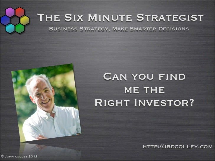 The Six Minute Strategist                     Business Strategy, Make Smarter Decisions                                   ...
