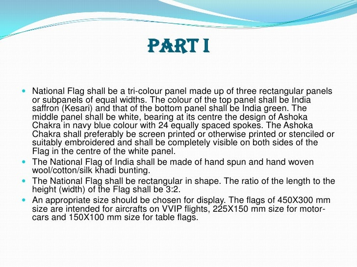 is code for our national flag The composition consisting of the words and music known as the star-spangled banner is the national anthem.