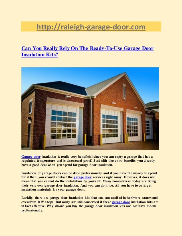 Gentil Http://raleigh Garage Door.com Can You Really Rely On ...