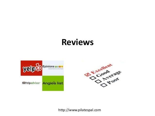 Reviews http://www.pilatespal.com