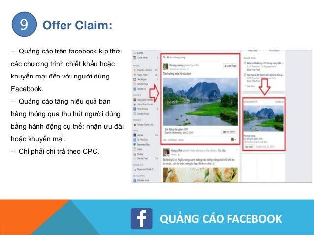 QUẢNG CÁO FACEBOOK Local Awareness: – Là giải pháp quảng cáo trên facebook giúp doanh nghiệp kết nối với các khách hàng ở ...