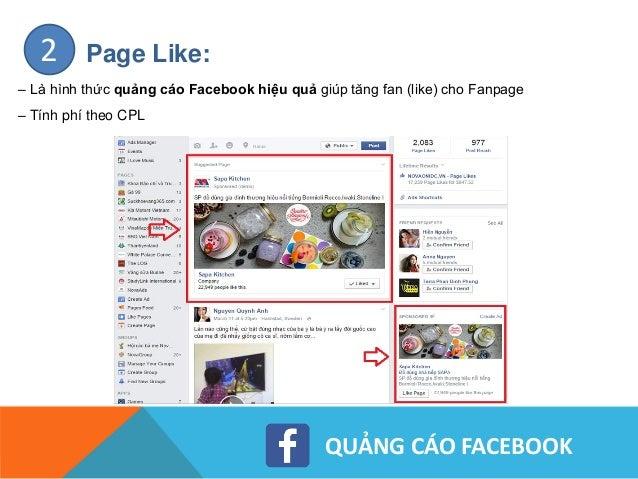 QUẢNG CÁO FACEBOOK Clicks To Website – Domain Ads:3 – Là hình thức quảng cáo website tích hợp với Fanpage. – Dẫn trực tiếp...
