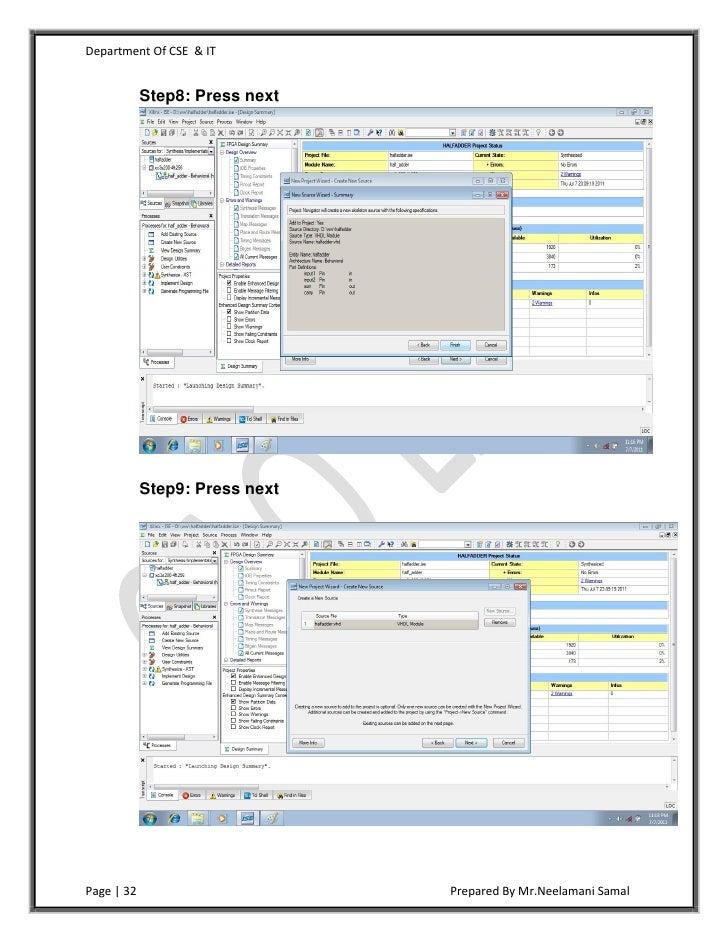 Lab manual Computer architecture