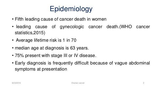 Ovarian Cancer Slide 2